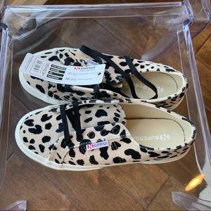 NWT superga Dalmatian print sneakers